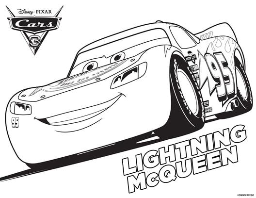 Lightning McQueen Coloring Sheet Cruz Ramirez